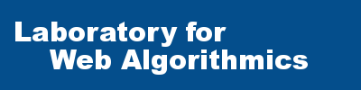 Laboratory for Web Algorithmics